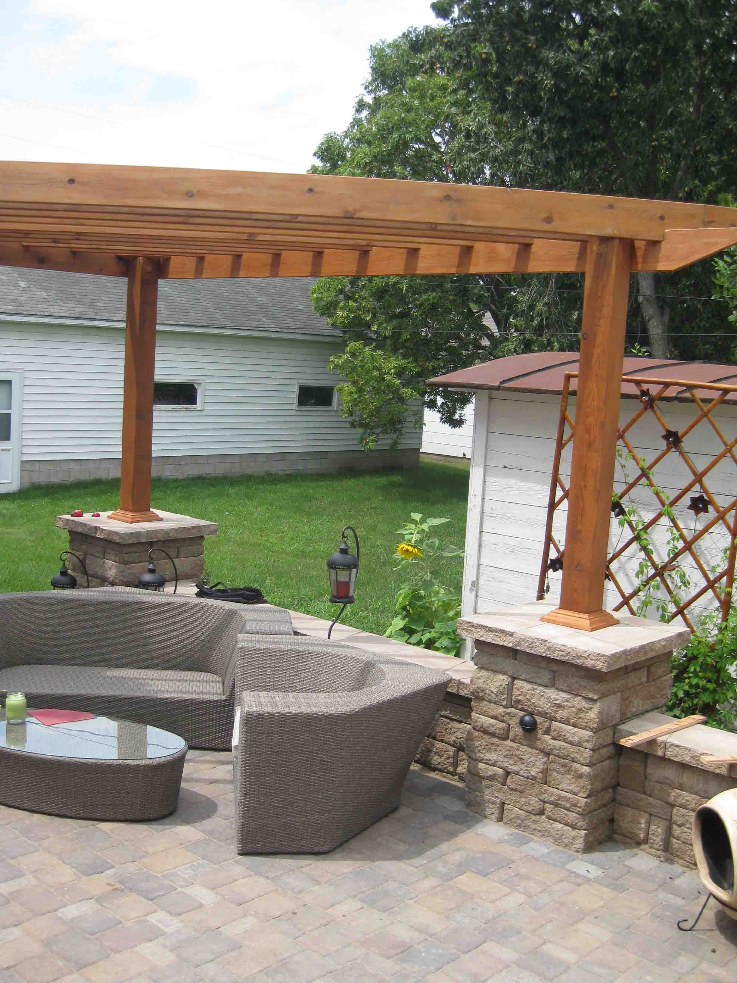 Landscaping Ideas: Pergolas Landscaping Ideas: Pergolas