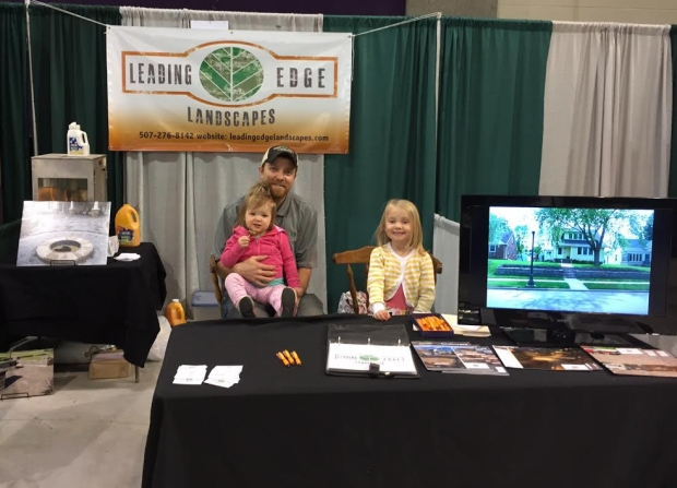 Leading Edge Landscapes at Southern Minnesota Home Show 4