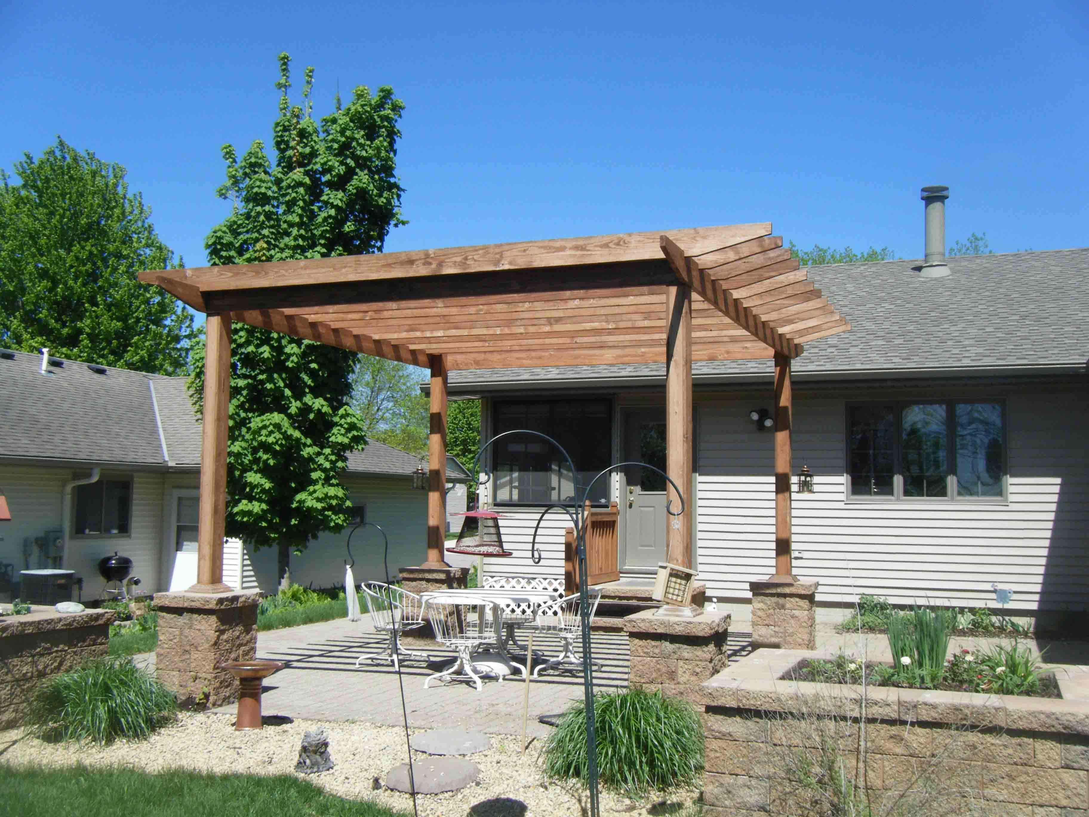 Our work leading edge landscapes for Ideal outdoor living